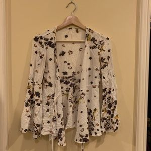 Free people tie top
